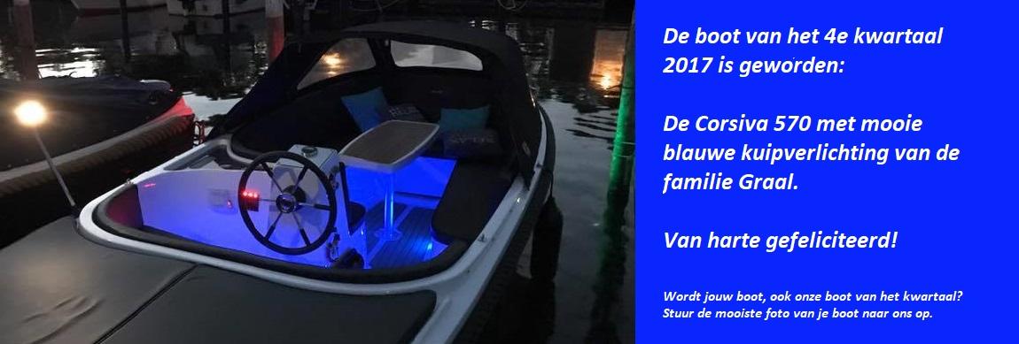Winnaar boot van het kwartaal Corsiva 570