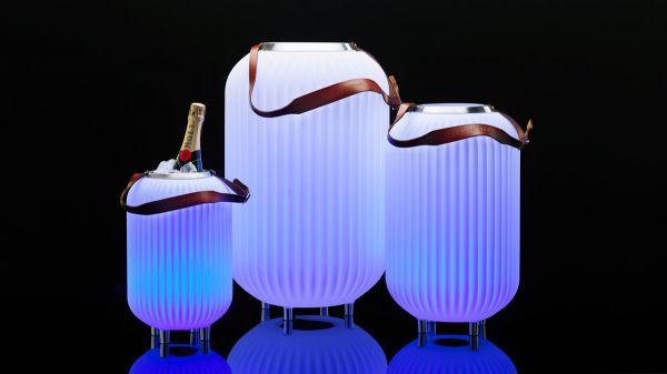 Lampion | Wijnkoeler | Speaker in 1